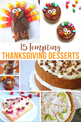 15 Tempting Thanksgiving Desserts