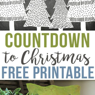 Countdown to {a Simple} Christmas