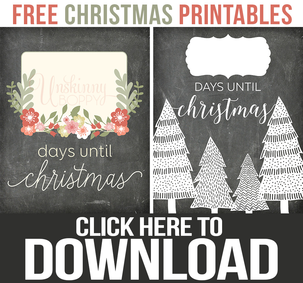 Download Free Christmas Printables