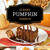 Pumpkin Dessert ideas