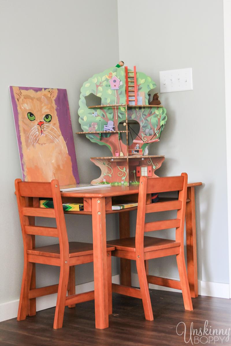 Amazing Attic Playroom - Office-12