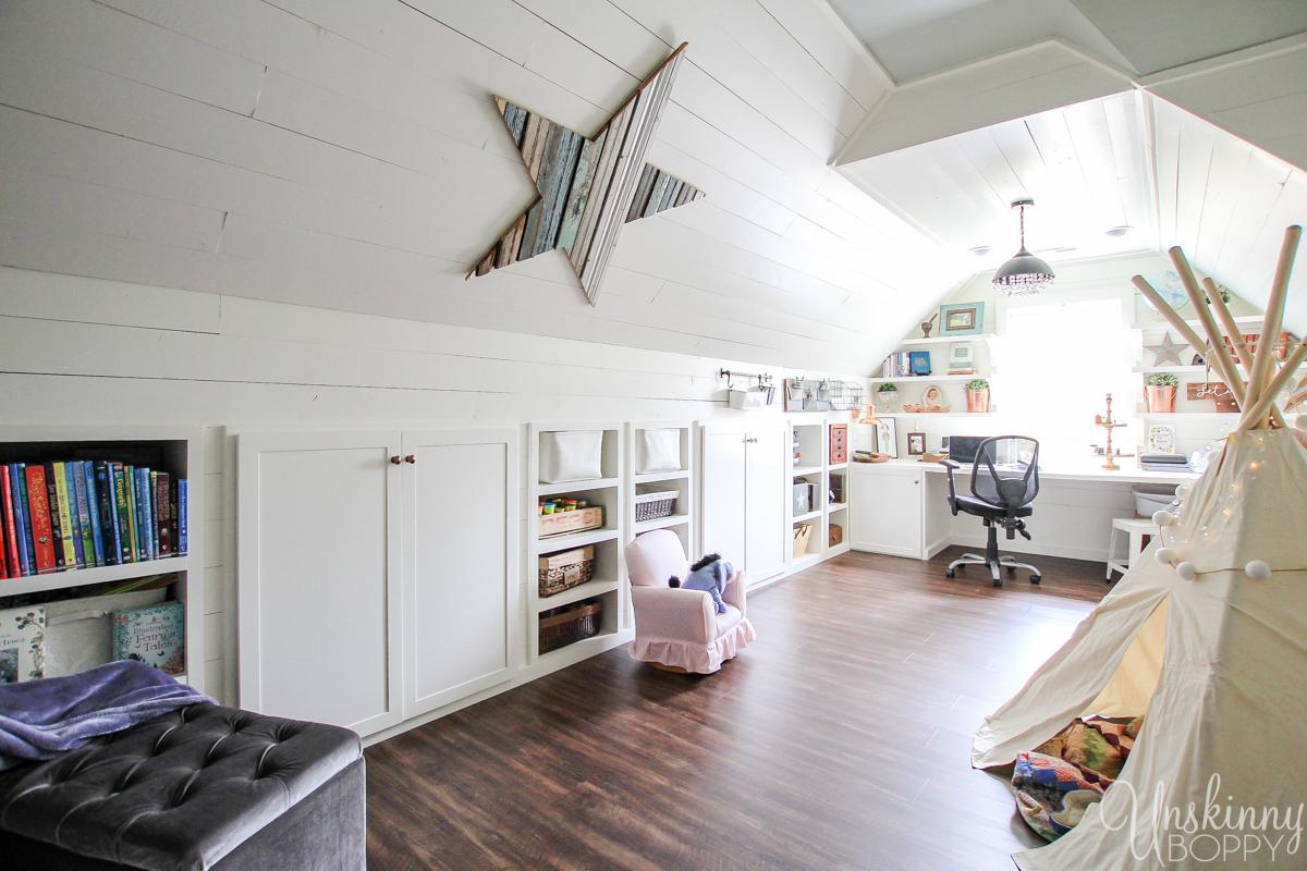 Amazing Attic Playroom - Office-4