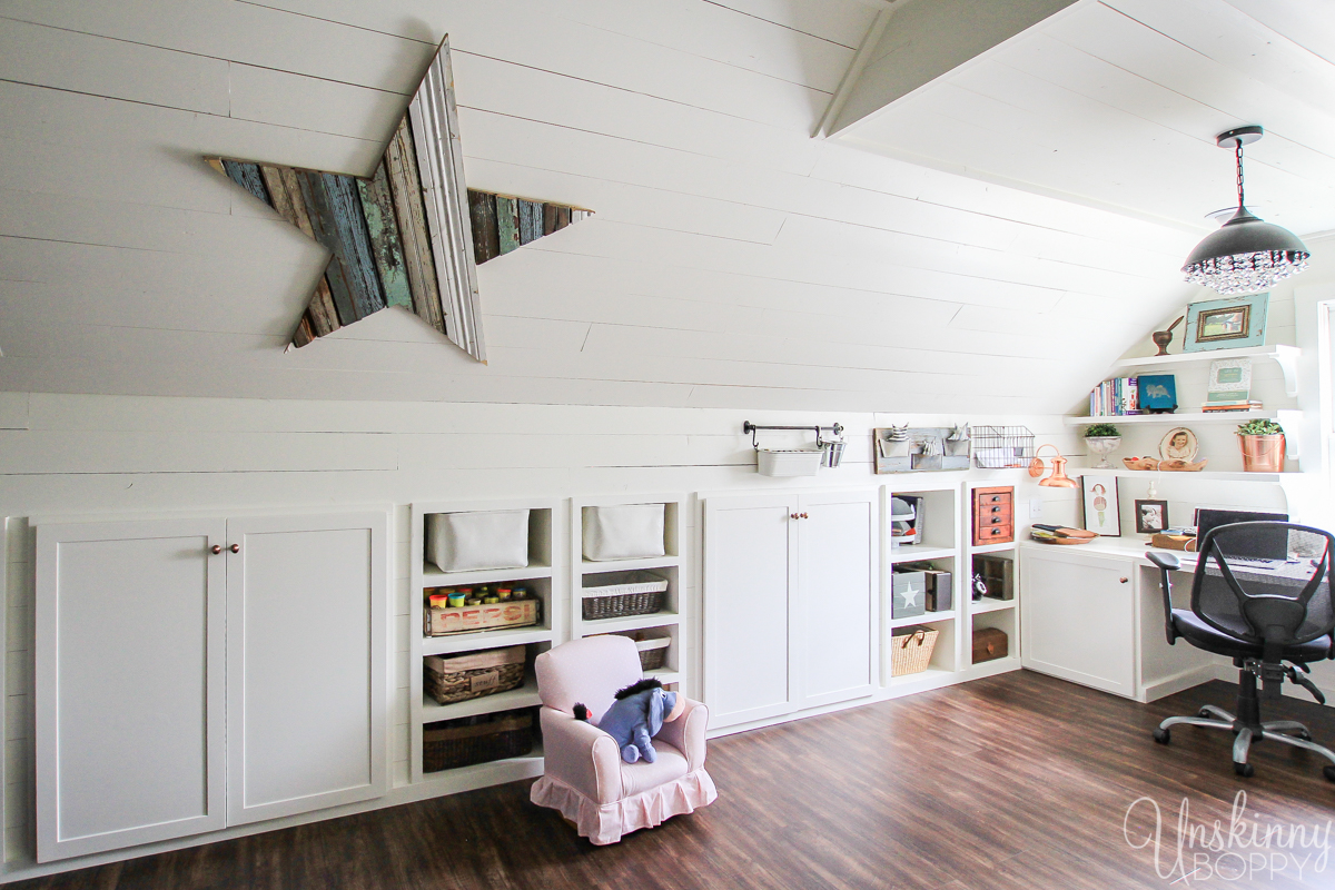 Amazing Attic Playroom - Office-6