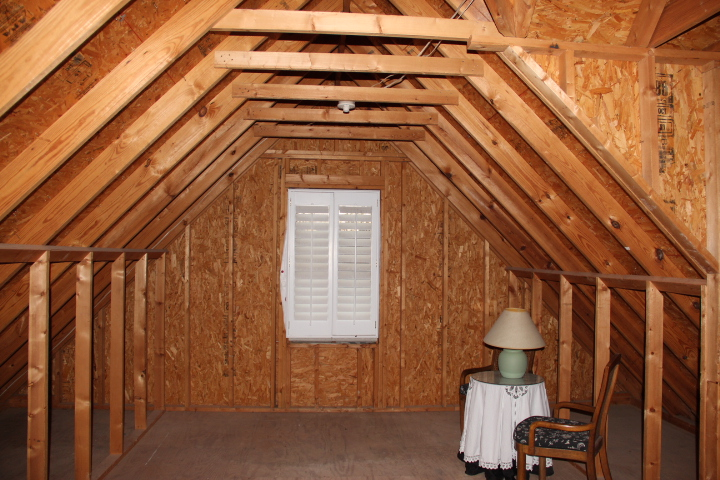 And Here Is The Finished Attic Turned Office