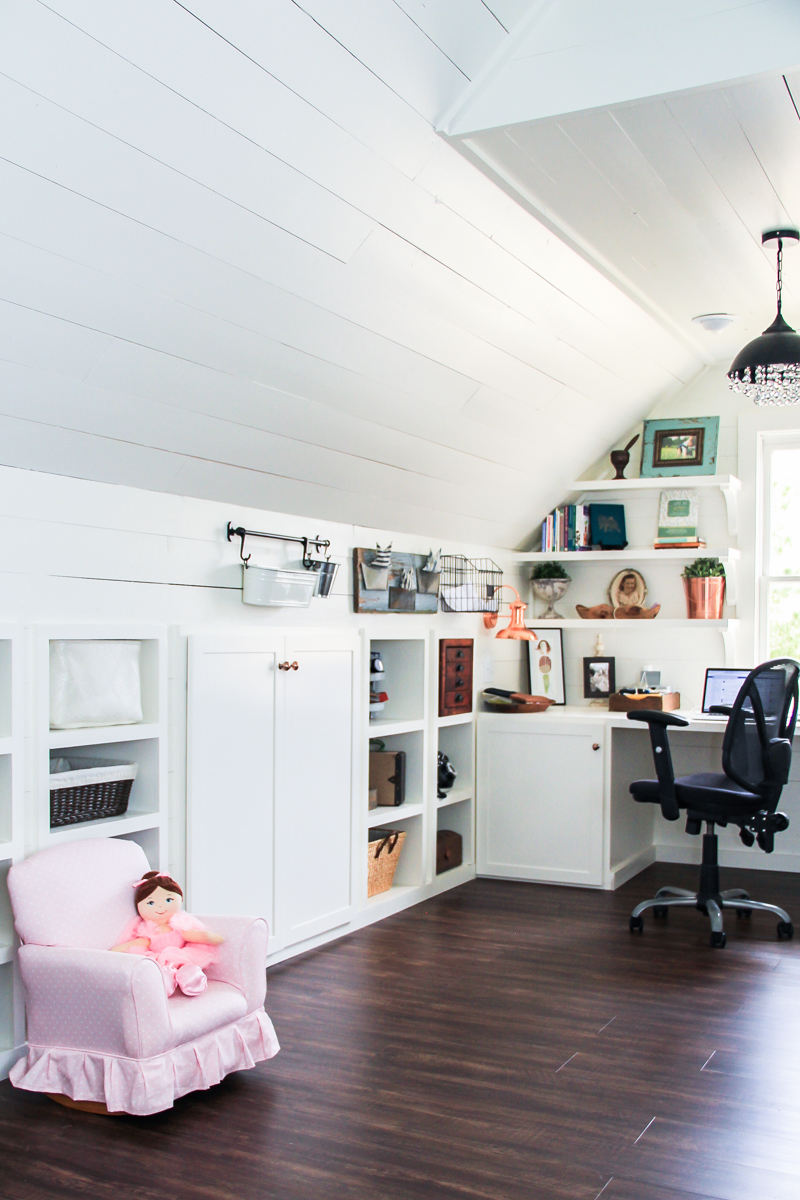 Renovated Attic Playroom- Office-Craft Room by Unskinny Boppy-21