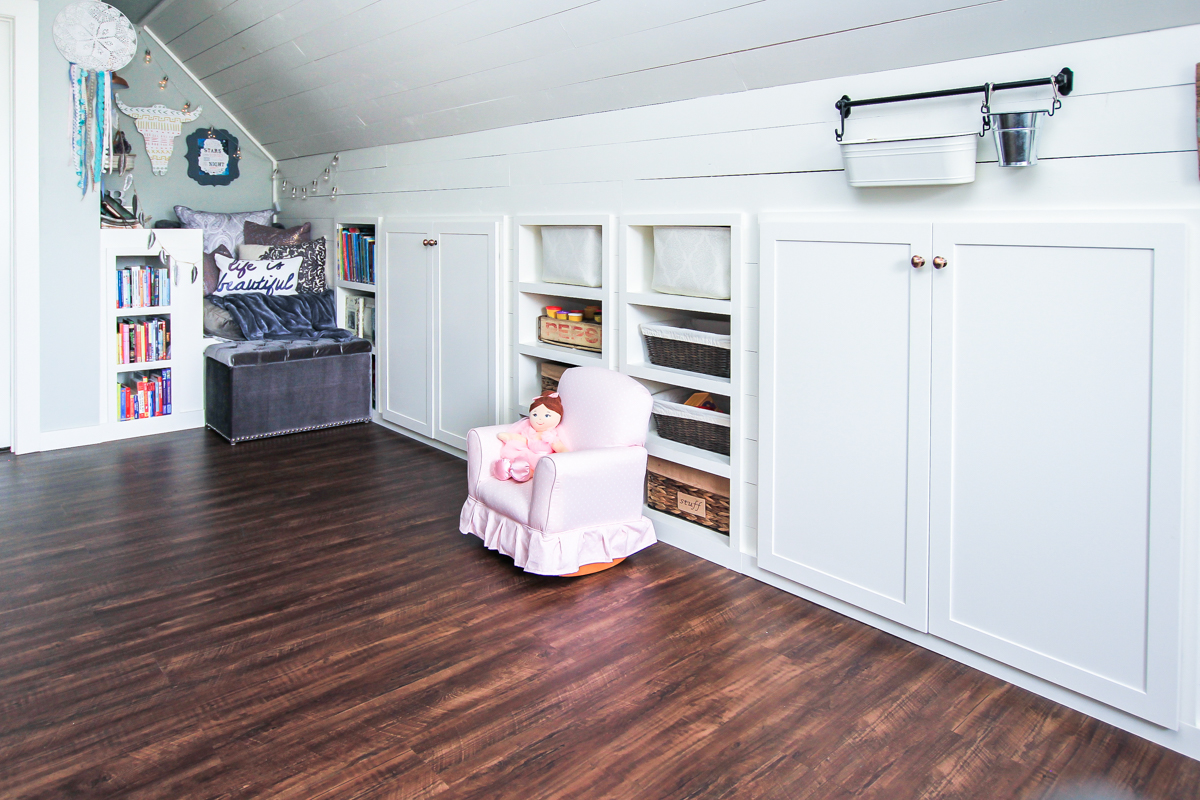 Renovated Attic Playroom- Office-Craft Room by Unskinny Boppy-3