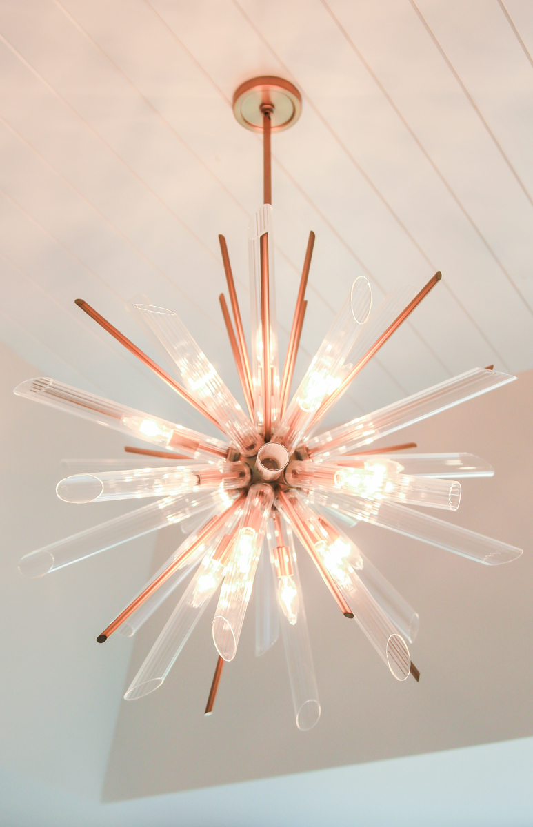 Modern lighting starburst