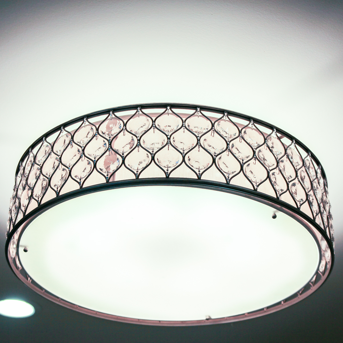 Modern Lighting Fixture Ideas- glass drum