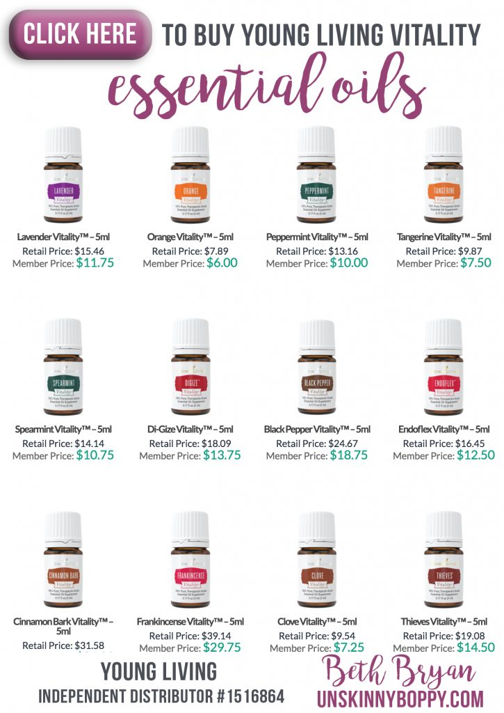 Buy Young Living Vitality Oils
