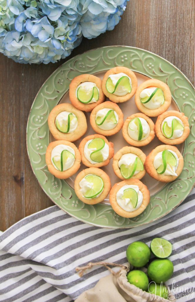 Key Lime Thumbprint Cookes with lime essential oil-10