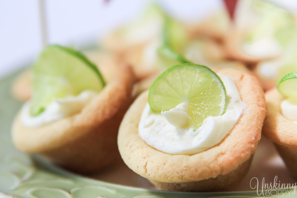 Key Lime Thumbprint Cookes with lime essential oil-12