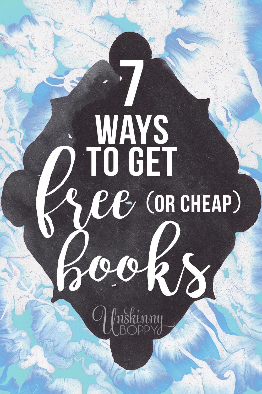 7 ways to get free books