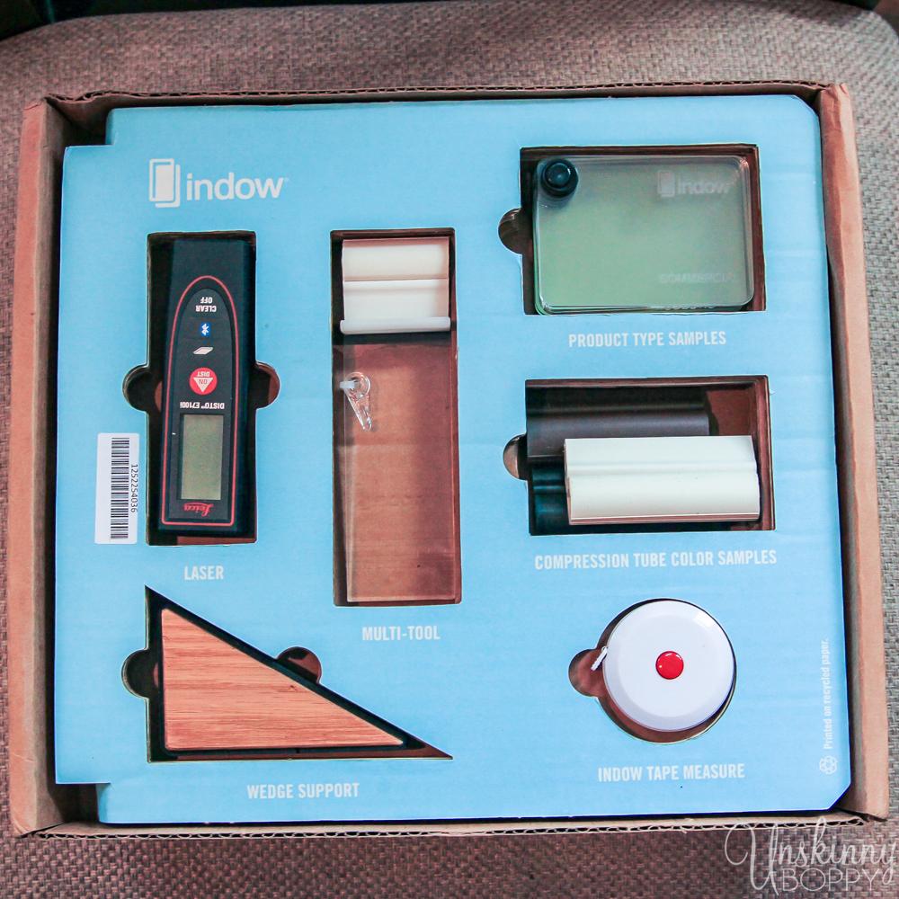 Indow Window Insert installation kit