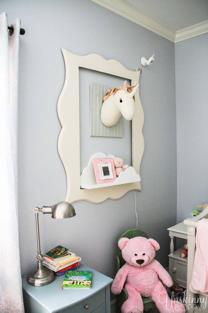 Magical Unicorn Girl's Nursery-11