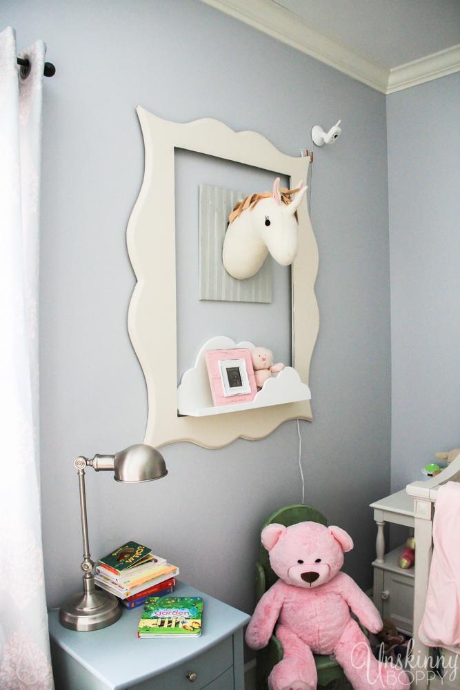 Magical Unicorn Girl's Nursery-11