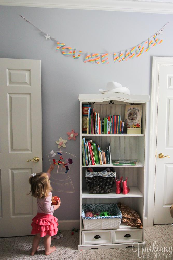 Magical Unicorn Girl's Nursery-9