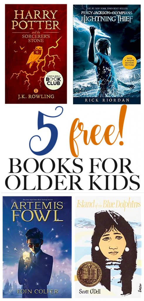 5 free books for older kids