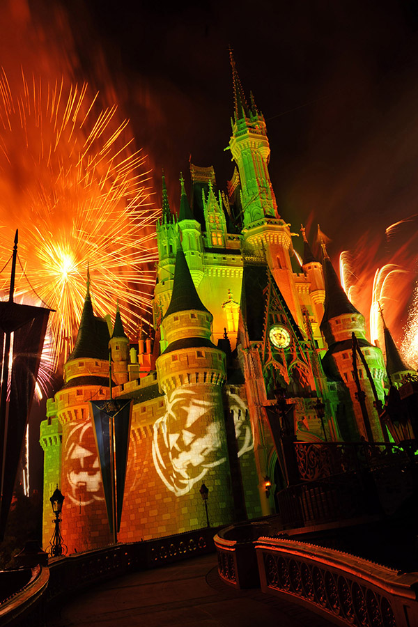 Mickey's not-so-spooky Halloween party at Disney World