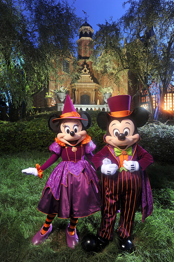 Minnie and Mickey's not-so-spooky Halloween party at Disney World