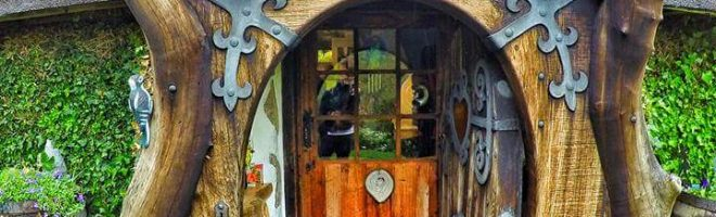 Come Tour a Real Life Hobbit House
