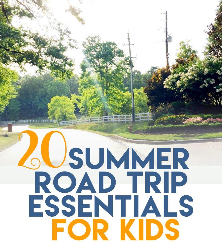 20 summer road trip essentials for kids unskinny boppy. Black Bedroom Furniture Sets. Home Design Ideas