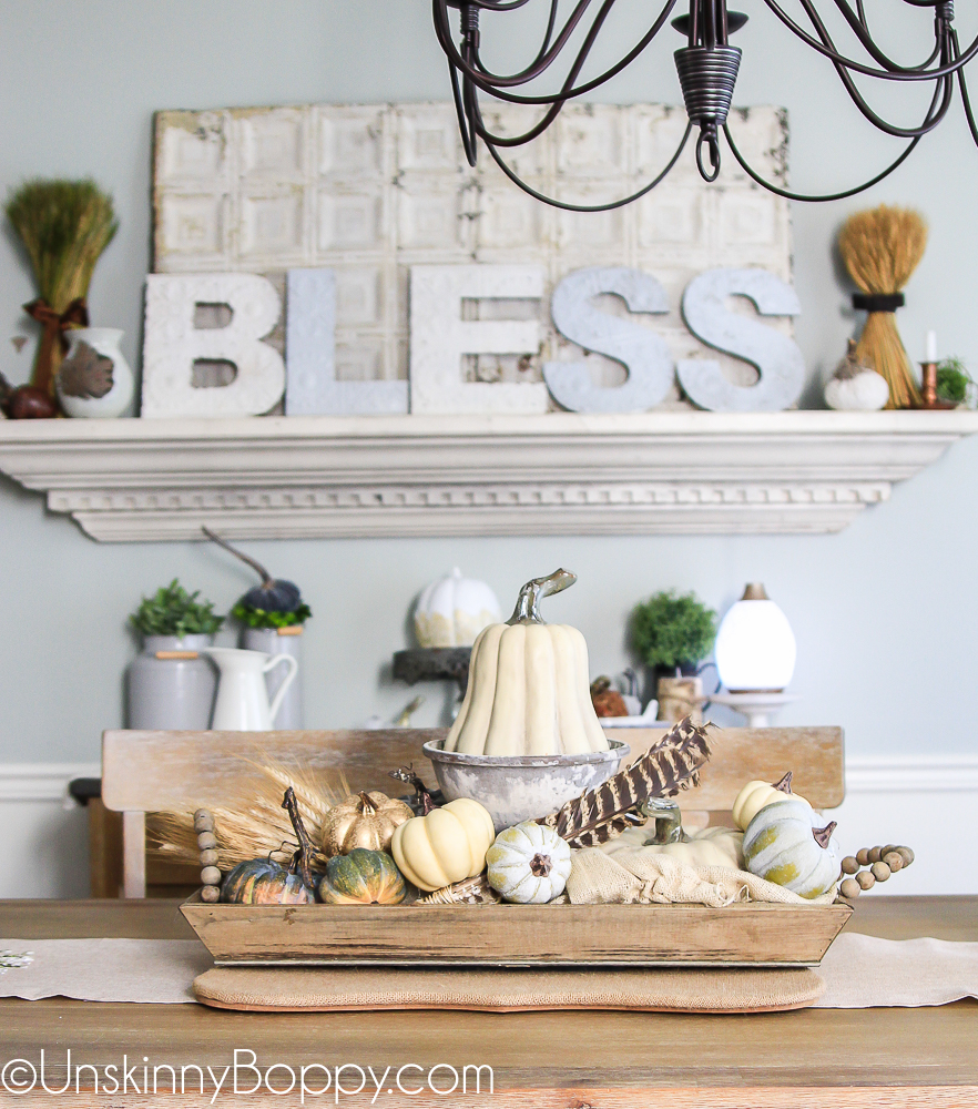 Instagram Fall Decorating Ideas: Bless It! Decorating The Dining Room For Fall