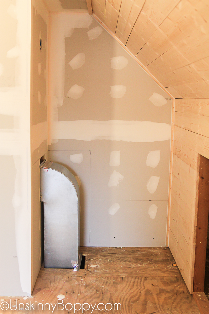 Adding a laundry chute to an unfinished attic