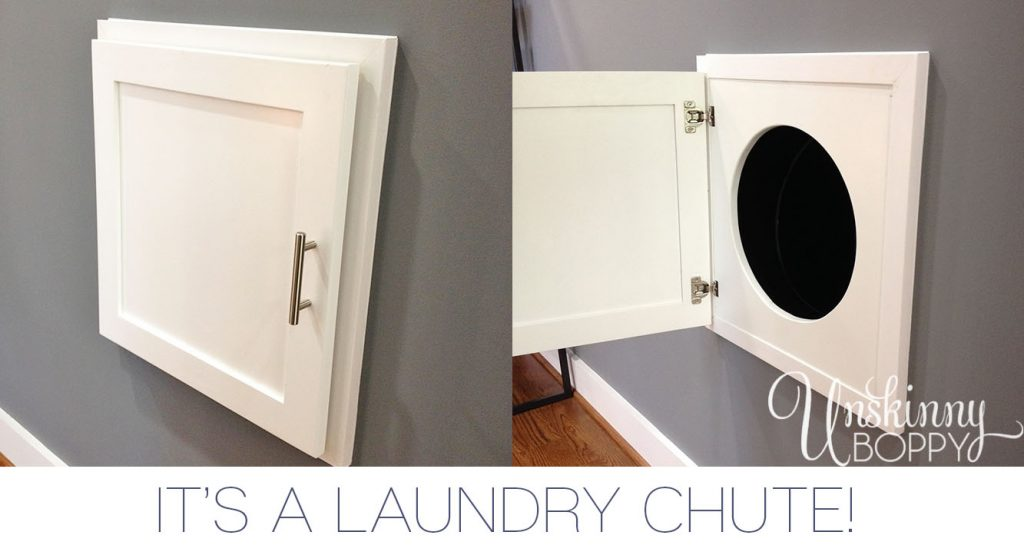 LAUNDRY CHUTE IN WALL