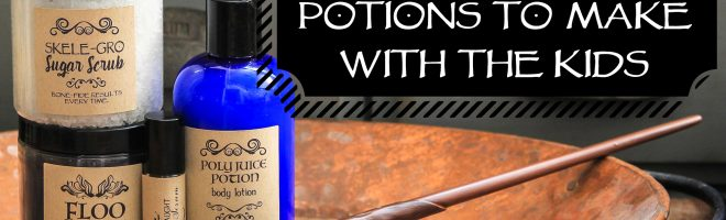 Harry Potter Bath & Body Potion Recipes