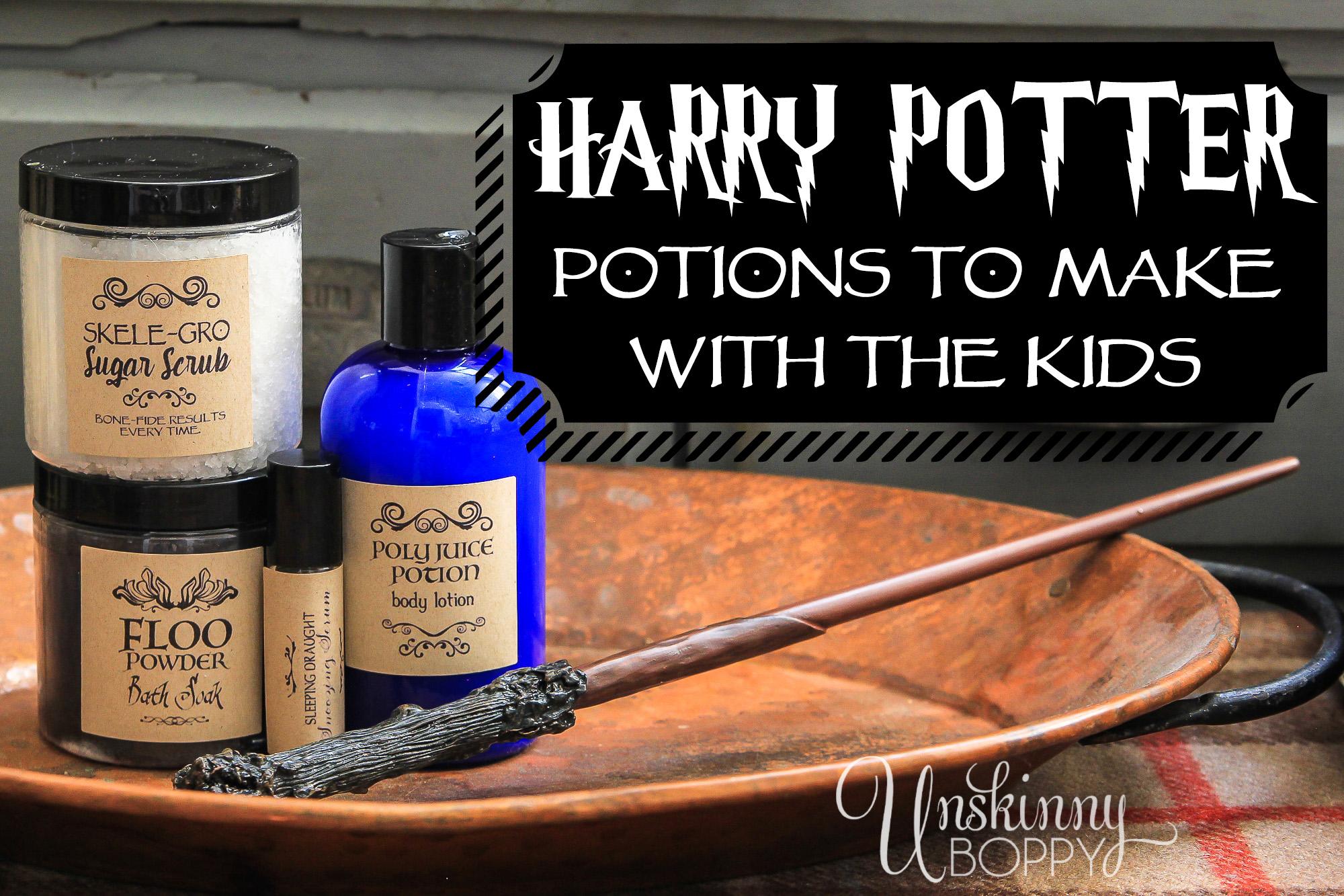 Harry Potter Bath Body Potion Recipes