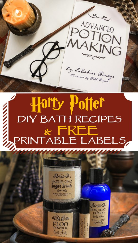 Harry Potter Bath Amp Body Potion Recipes Unskinny Boppy