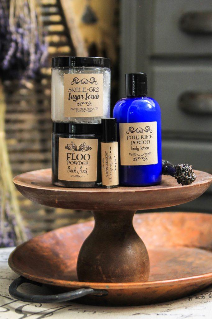 Harry Potter Bath & Body Potion Recipes - Unskinny Boppy