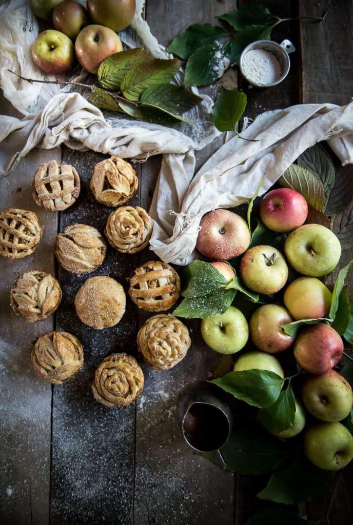 Mini Apple Pies in a Muffin Tin