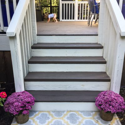 How to refinish an old wooden deck