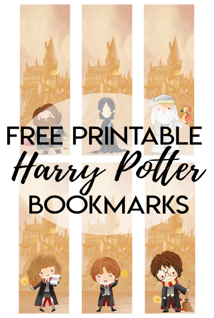 free printable harry Potter bookmarks