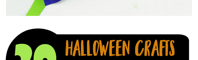 20 Cute Halloween Crafts for Kids