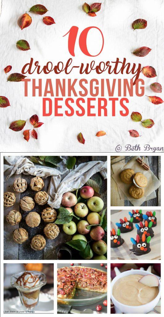 10 Drool-worthy Thanksgiving Dessert Recipes