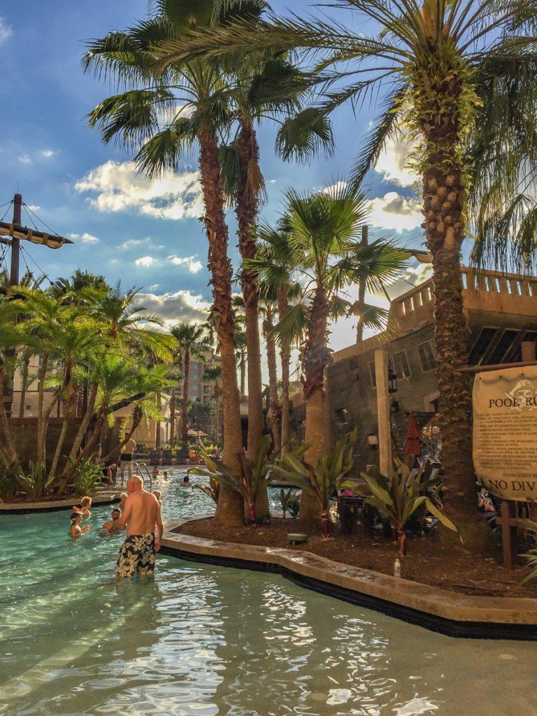 Pirate Ship Pool at Wyndham Bonnett Creek Orlando
