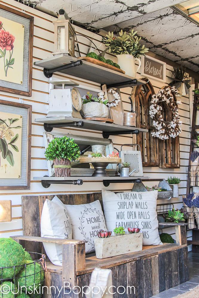Tyler Decor Haven farmhouse style home decor truck