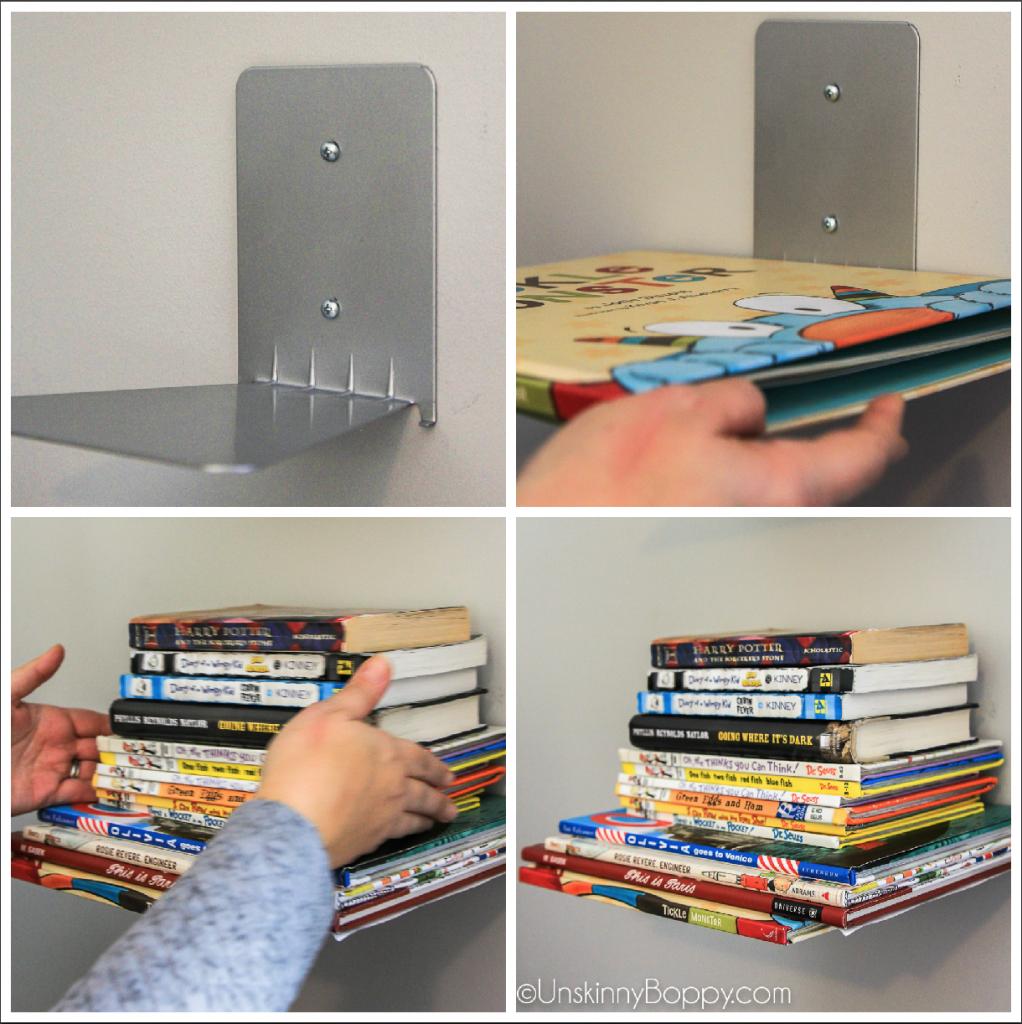 How to create a Floating Bookshelf