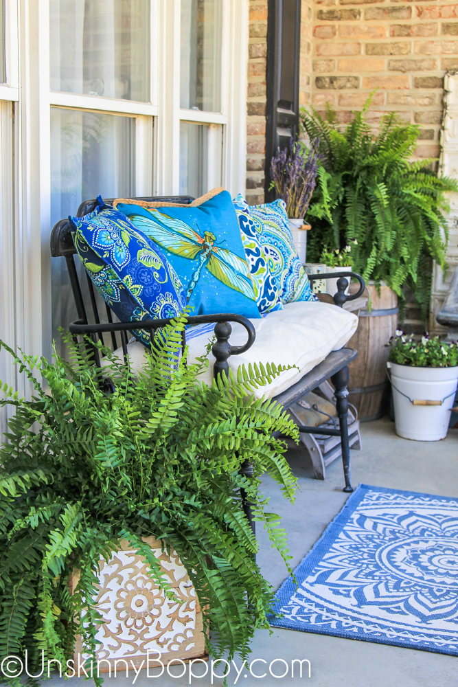 Simple Spring Porch Decorating Ideas From Top Home Decor Bloggers