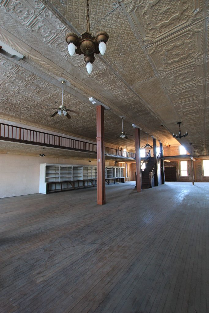 Main Street Turn-of-the-Century Mercantile Store in need of renovation