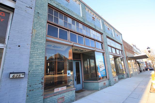 Main Street Montevallo Alabama Storefront