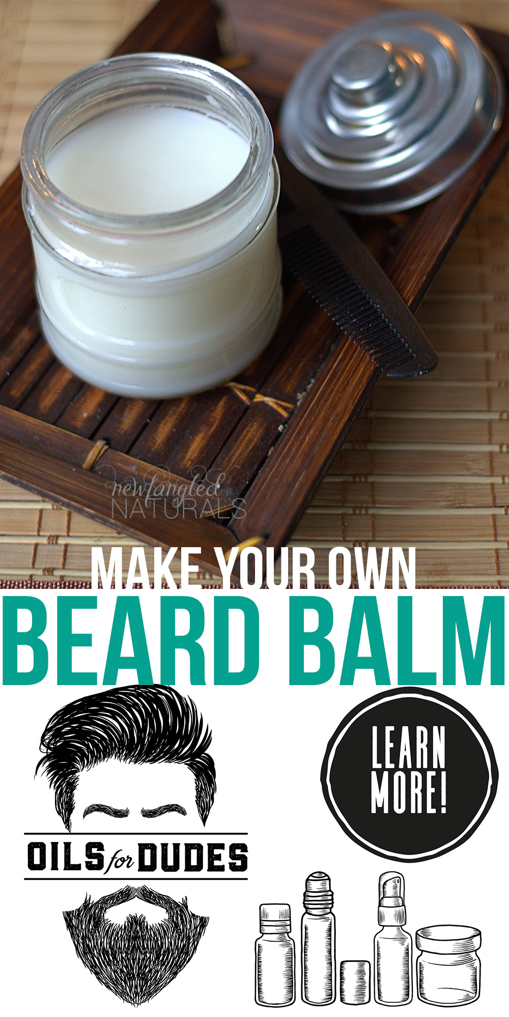 DIY Beard Oil and Beard Balm {Easy Father's Day Gifts