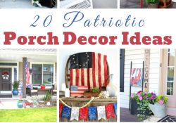 Patriotic Porch Decor Ideas