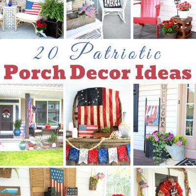 Patriotic Porch Decor Ideas