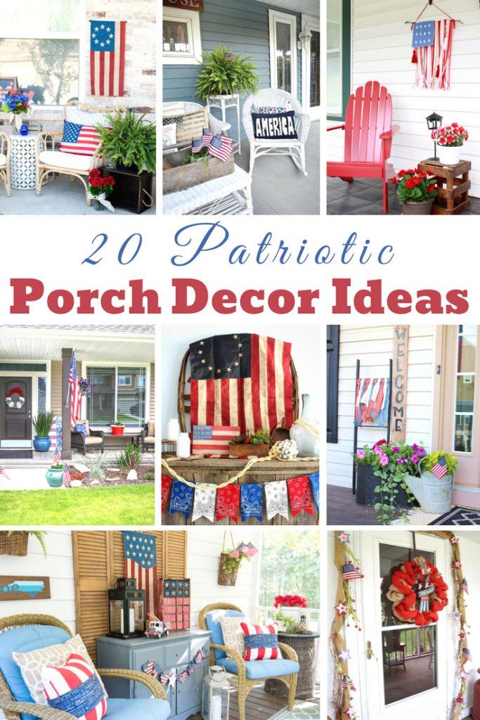 20 Patriotic Porch Decor Ideas