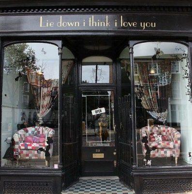 Lie down I think I love you Storefront