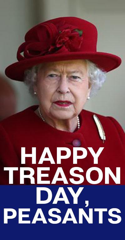 happy treason day peasants