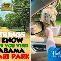 Things to know before you visit Alabama Safari Park